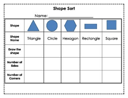 Sorting 2d Shapes Venn Diagram Ks1 Venn Diagram Shape Sorting Beautiful Math Worksheets For 3rd Grade
