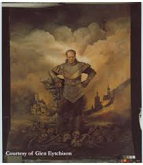 the photograph that was turned into the oil painting used on the ghostbusters ii set courtesy of glen eytchison