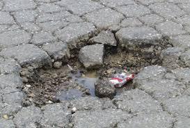 Αποτέλεσμα εικόνας για δρομος λακουβες κινδυνος
