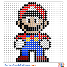 Bead Patterns Delectable Super Mario Perler Bead Pattern And Designs Bead Sprites