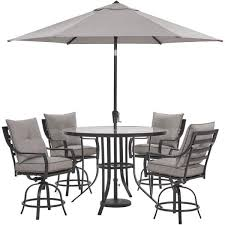 hanover lavallette 5 piece steel
