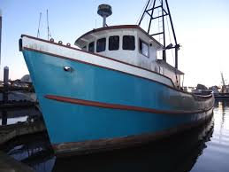Commercial Fishing Boat Review Ship Vessel Video For Sale 68' HouseBoat  Cabin Cruiser Cat Diesel - YouTube