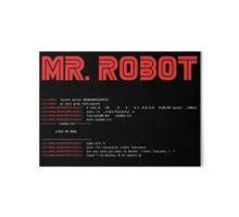 art board on mr robot wall art with mr robot fsociety00 dat art boards by norithiel redbubble