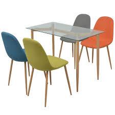 Vidaxl 5tlg Essgruppe Sitzgruppe Esstisch Küchentisch Garnitur