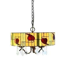 rosy 3 light bronze style and crystal indoor hanging lamp with shade multi coloured chandelier color