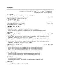How To Write Accomplishments In Resume Accomplishments On Resumes