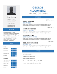 Template Creative Resume Word Template Free Download Free