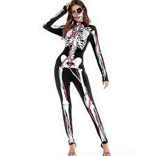 Kings Of Indigo Size Chart Deatu Halloween Women Pants Ladies Casual Scary Halloween
