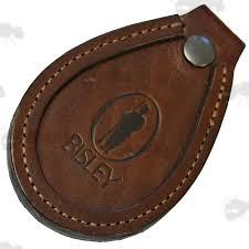 bitp bisley dark brown leather barrel rest leather toe protector