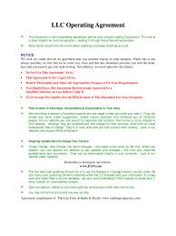 Llc Operating Agreement Template - 6 Free Templates In Pdf, Word ...