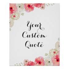 Custom Quote Prints