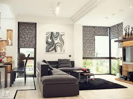 Easy Living Room Ideas With Black And White Combo Luck Interior - Easy living room ideas