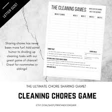 Roommates Cleaning Schedule Lamasa Jasonkellyphoto Co