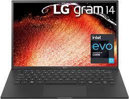 Buy LG Gram 14Z90P - 14 WUXGA (1920x1200) Ultra-Lightweight Laptop, Intel  evo with 11th gen CORE i7 1165G7 CPU , 16GB RAM, 512GB SSD, Alexa Built-in,  25.5 Hours Battery, Thunderbolt 4, Black -