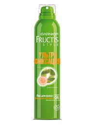 """<b>Лак для волос</b> """"Fructis <b>Style</b>, Фиксация и блеск"""", 250 мл Garnier ..."""