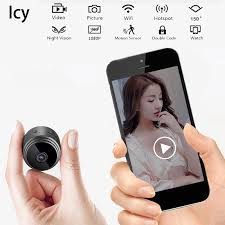 <b>Icy Mini Wireless Camera</b> WiFi HD 1080P Home Security Night ...