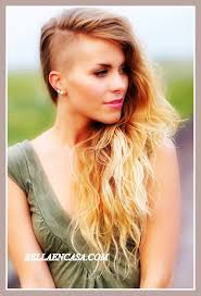 Resultado de imagen de pelo rapado mujer tumblr