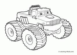 It's no surprise, boys love trucks. Monster Truck Coloring Sheet Book Pages Printable For Toddlers Cars Pickup Jam Videos Trash Golfrealestateonline
