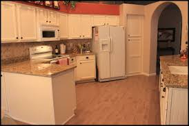 Small Picture Interesting Painted Kitchen Cabinets With White Appliances For