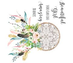 What Is A Dream Catcher Supposed To Do Spring Time Dream Catcher Beautiful Girl Quote fabric 54