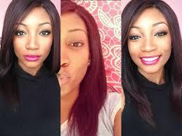 Diy Dyeing Hair Dark Red Cherry Black Youtube