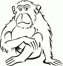 Coloriage Dessin Gorille Voir Le Dessin L L L L L L L L L