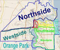 jacksonville neighborhoods map