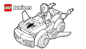 Small Picture Lego spiderman coloring pages ColoringStar