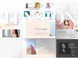 Tension Creative Powerpoint Template Free Download By