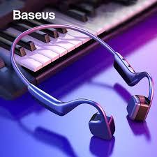 Baseus BC10 Bone Conduction <b>Bluetooth</b> Earphone Wireless <b>IPX5</b> ...
