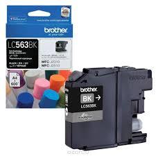 <b>Картридж Brother LC563BK</b>, черный, для струйного принтера ...