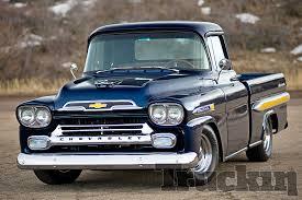 Capt. Hays - 1959 Chevy Apache - American Soldier - Truckin Magazine