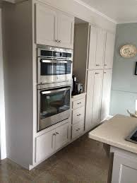 Martha Stewart Sharkey Gray cabinets-through Home Depot | Kitchen ...