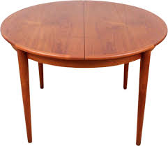 scandinavian round dining table in teak 1950s previous next