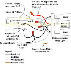 How To Replace A Light Switch With A Motion Sensor Motion Activated Light Wiring Diagram Wiring Diagram Options