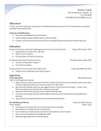 Caterer Resume Catering Resumes Under Fontanacountryinn Com