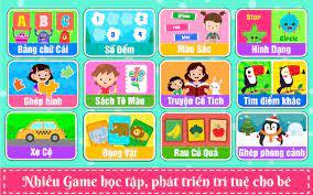 Bé Học Bảng Chữ Cái, Học Số Đếm Tiếng Việt for Android - APK Download