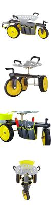 garden scooter seat. Garden Kneelers Pads And Seats 75669: Gorilla Carts Rolling Scooter Seat L