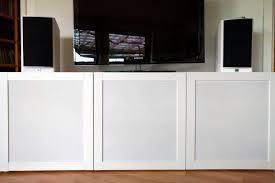 how to speaker fabric doors for bestÅ tv unit