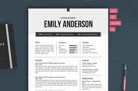 Resume Template | The Emily 2pk