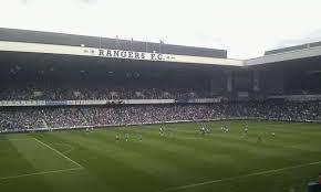 Ibrox Stadium Section Mrs Home Of Rangers Fc