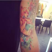акварельные татуировки за и против онлайн журнал о тату