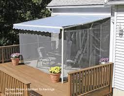 a screen porch kit is a great way to