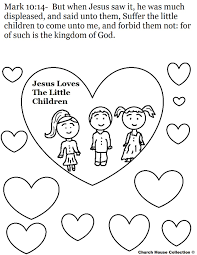 Small Picture Jesus Loves Me Printable Coloring Pages esonme