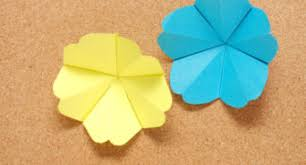 make paper tropical flowers