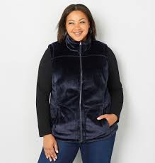 fleece cozy vest