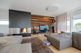 Image Furniture Placement Creative Fireplace Mantel Decorating With The Tv Lushome 30 Multifunctional And Modern Living Room Designs With Tv And Fireplace