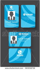 Background » Check All Blue Id Design Card 9