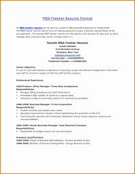 Mba Resume Template Beautiful Mba Resume Format Download Now