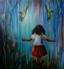 realistic painting take me with you by romi soni